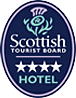 Scottish tourist board 4 star logo