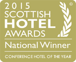 Scottish Hotel Awards National Winner - Conference Hotel of the Year 2015